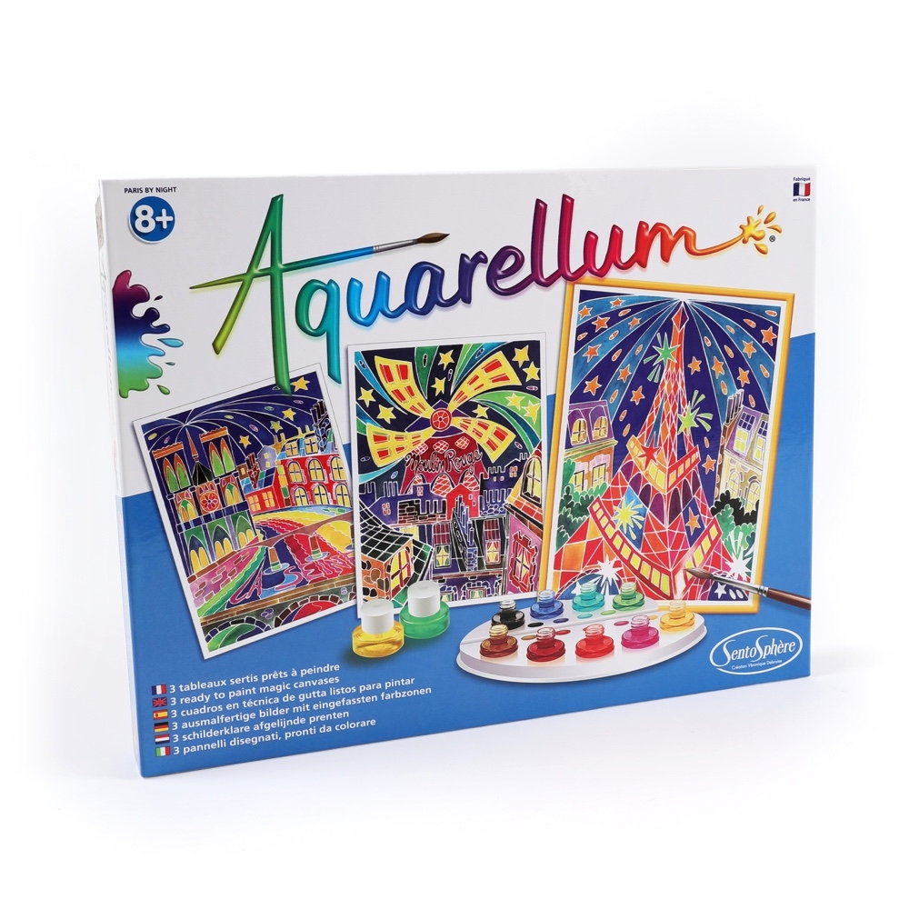 Main Aquarellum Parisian Painting Kit image