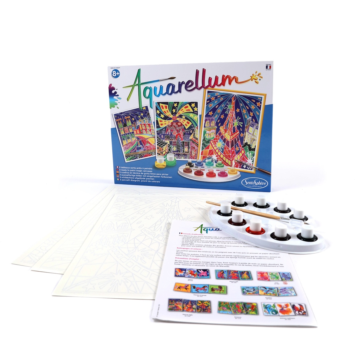 Alternate Aquarellum Parisian Painting Kit image 0
