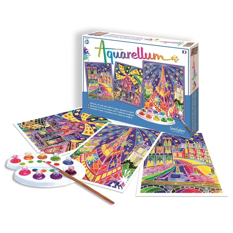 Alternate Aquarellum Parisian Painting Kit image 1