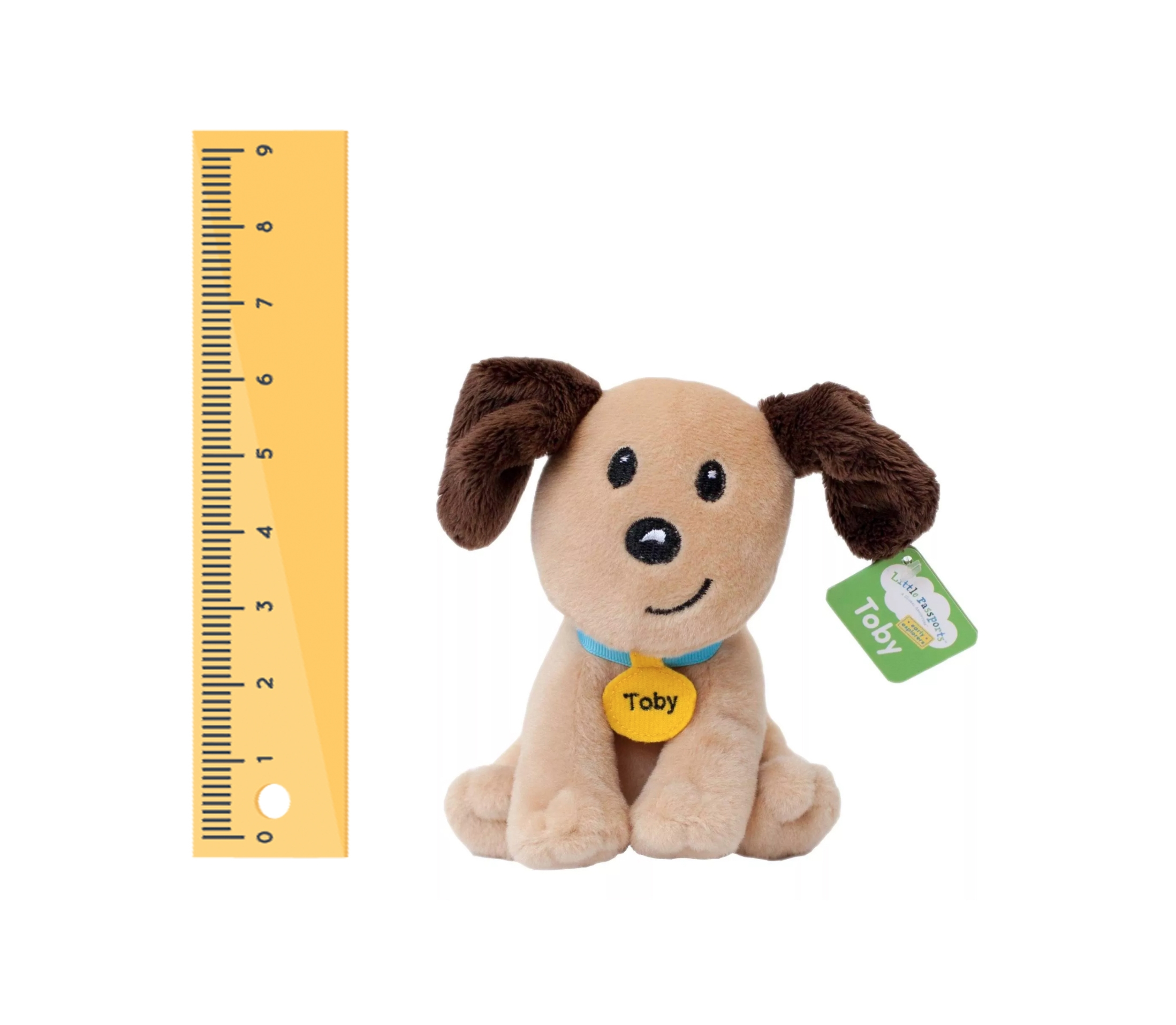 "Alternate Small 6"" Toby Plush image 0"